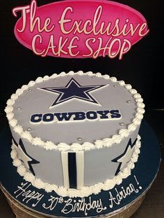 Inspired Photo of Cowboys Birthday Cake Cowboys Birthday Cake Adult Male Cakes Exclusive Cake Shop Dallas Cowboys Kuchen, Dallas Cowboys Birthday Cake, Cowboy Birthday Cakes, Dallas Cowboys Party, Cowboy Cakes, Happy Birthday Cakes, Birthday Cake Toppers, Cowboys Stadium, Cupcakes