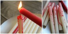 Repinned: DIY Halloween Candles