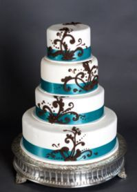 Cake!  With silver instead of blue