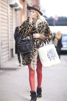 New York Fashion Week Street Style —Fall 2012