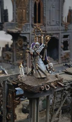 Adepta Sororitas ⚜︎ Order of the Hallowed Veil Battle Brothers, 40k Sisters Of Battle, Miniature Bases, Liquid Metal, Warhammer 40k Miniatures, Prayer Room, Grown Man, The Grim, Mini Paintings
