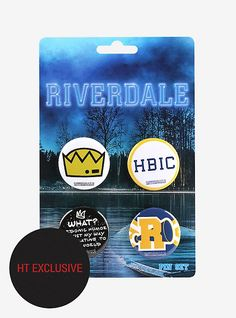 Riverdale Icons & Quote Pin Set Hot Topic Exclusive,