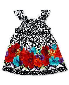 Sweet Heart Rose Girls Dress, Baby Girls Sundress - Kids Baby Girl (0-24 months) - Macy's