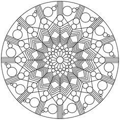 Pattern Coloring Pages, Mandala Coloring Pages, Coloring Pages To Print, Coloring Book Pages, Printable Coloring Pages, Geometric Mandala, Mandala Art, Color Me Badd, Mandalas Drawing