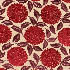 Sanderson 'Ceres' is a striking cut velvet design with large, stylised chrysanthemum flower heads @sandersonfw