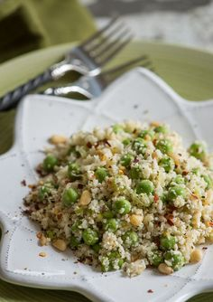 Rawmazing Cauliflower and Peas