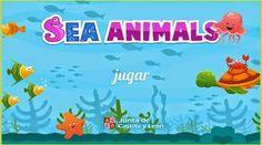 Material interactivo de apoyo para trabajar el vocabulario de los animales en inglés.