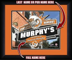 Use this Exclusive coupon code: PINFIVE to receive an additional 5% off the Oklahoma State Cowboys Personalized Pub Print at SportsFansPlus.com