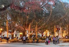 Nights of Lights in St. Augustine, Florida.