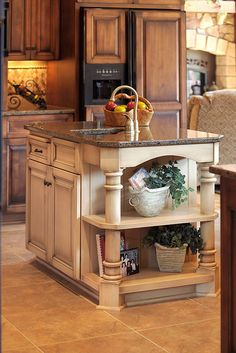 k island modified 1312 100 Kitchen Island Ideas