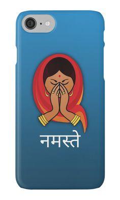 Namaste in Hindi iPhone 7 Case #indian #iphone #case