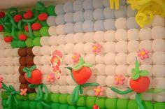 DSC06086 Como fazer um Painel com Balões