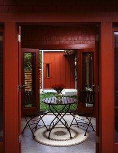 Breezeway from Courtyard House, Austin, TX. Michael Antenora, Architect.