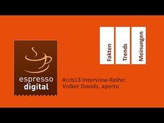 #ccb13 Interviews: Wo steht das Community & Social Media Management? Volker Davids, aperto