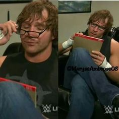 I wish that Dean Ambrose will be my doctor.