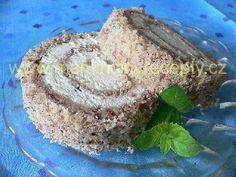 Ořechovo-karamelová roláda
