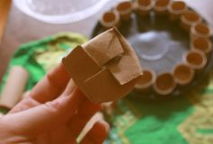 Be Earthwise: Biodegradable Seed Starter Pots From Toilet Paper Rolls