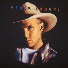 1996 Garth Brooks Fresh Horses Concert Tour T-Shirt Size XXL Cities on Back