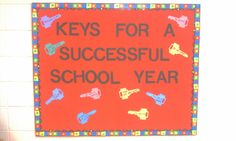 middle school bulletin board ideas beginning year - Google Search