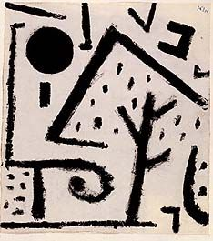 Paul Klee: Niessen landscape, 1937.