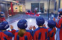 iFLY indoor skydiving, Manchester