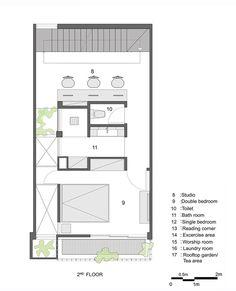 Casa Q10,Planta Segundo Piso