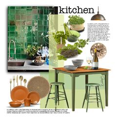 """Kitchen"" by gracekathryn ❤ liked on Polyvore"