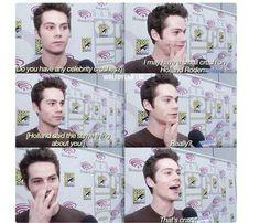 Haha omg Dylan O´Brien