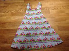A personal favorite from my Etsy shop https://www.etsy.com/listing/464495106/hello-kitty-toddler-dress-size-3t
