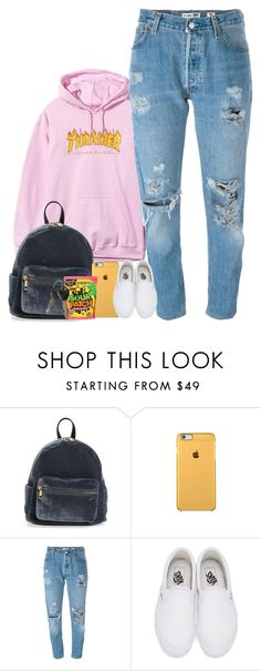 """"" by mxnvt ❤ liked on Polyvore featuring BP., Levi's and Vans"