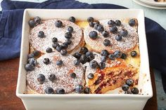 Wow them tomorrow morning with our Blueberry-Lemon Ricotta Pancake Bake. They're sure to love the luscious layers of this sweet and fruity pancake bake.