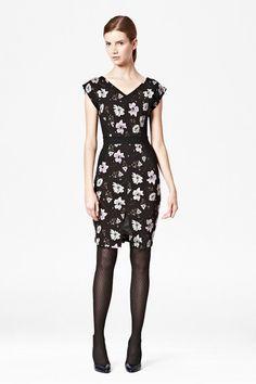 Bloomsbury Floral Jersey Dress