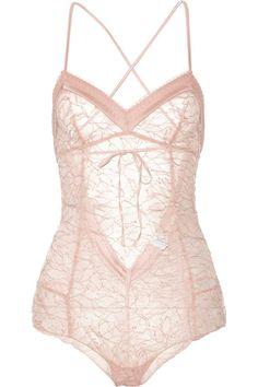 Madame Aime Café de Flore Lace Bodysuit