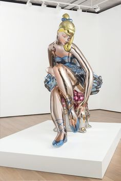 Jeff Koons, 'Seated Ballerina', 2010-2015   Neo-Pop Art