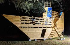 High Seas Pirate Ship Plan for Kids – Paul's Playhouses Kids Playhouse Plans, Outside Playhouse, Build A Playhouse, Playhouse Kits, Simple Playhouse, Indoor Playhouse, Ship Ladder, Sea Pirates, Lower Deck
