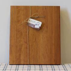 The Chef's cutting board is a large edge grain cutting board designed for years of heavy use in the kitchen. The board is 12 inches wide, 15 inches long and a f