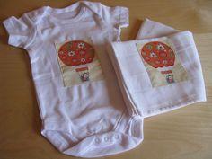 onesie and cloth diaper