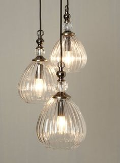 Mirielle 3 light Cluster - Ceiling Lights - Home, Lighting & Furniture - BHS Decor, Ceiling Lights, Bedroom Lighting, Home Lighting, Lights, Kitchen Lighting, Cluster Lights, Luxury Lamps, Luxury Lighting