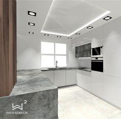 Projekt nowoczesnej kuchni Bathroom Lighting, Bathtub, Mirror, Furniture, Home Decor, Bathroom Light Fittings, Standing Bath, Bathroom Vanity Lighting, Bathtubs