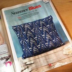 Knit Patterns, Hand Knitting, Nautical, Blues, Graphics, Crochet, Illustration, How To Make, Prints