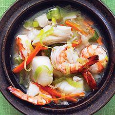Miso Seafood Stew | MyRecipes.com