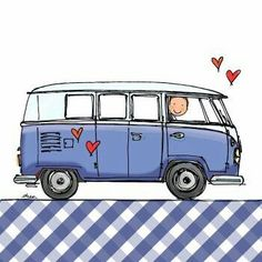 Hippie campers drawing vw bus Ideas for 2019 Volkswagen Bus, Vw T1, Hippie Camper, Bus Camper, Van Drawing, Camper Drawing, Best Pop Up Campers, Bus Art, Combi Vw