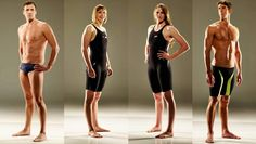 Swimmers Ryan Lochte, Katie Ledecky, Missy Franklin and Michael Phelps