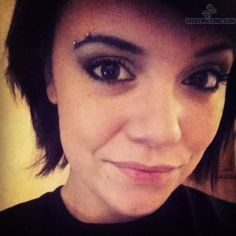 Horizontal Eyebrow Piercings.  Still really like this...wish mine wouldn't reject :(