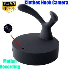 Full HD 1080P Clothes Hanger Hook Spy camera Spy dvr Pinhole Cam with Motion Detection camcorder