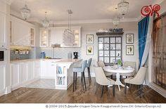 Дизайн белой кухни-столовой on Дизайн интерьера квартир, фото 2015-2016 | Дизайн-студия Ольги Кондратовой  http://www.ok-interiordesign.ru/wordpress/wp-content/gallery/art-deco/dizayn-kuhni-stolovoy-1.jpg