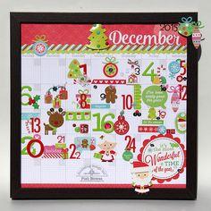 Doodlebug Design Inc Blog: Daily Doodles: December Countdown Calendar by Piali