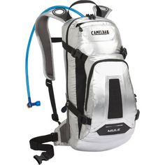 Camelbak M. 100 oz Hydration Pack - The original narrow gauge pack for 3 hours of mountain bike action. Outdoor Apparel, Outdoor Gear, Motorcycle Safety Gear, Mountain Bike Action, Mountain Biking, Outdoor Supplies, Hydration Pack, Handbag Stores, Tin Man