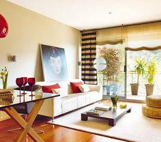 Un piso de 90 m² con diseño joven