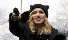 Madonna Lets The F-Bombs Fly On Live TV In Anti-Trump Speech At Women's March | The Huffington Post